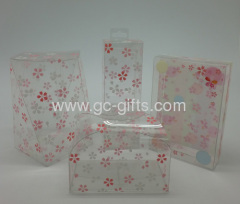 Custom clear plastic gift boxes