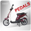 CE 25~32km/h 250W-500W Electric bike/scooter with pedals--LS4