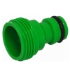 "Plastic 3/4"" BSP male thread connector"