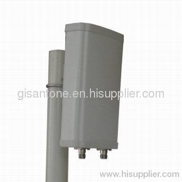 5150-5850MHz 5.8G Dual Polarization Sector Panel Antennas With 11dBi High Gain
