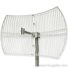 3400-3600MHz 3.5G WIMAX Outdoor Directional Parabolic Grid Antenna 28dBi High Gain
