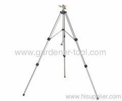 Telescoping Tripod Water Sprinkler With Brass Sprinkler Head