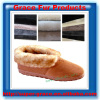 Genuine natural sheepskin fur shoe lining