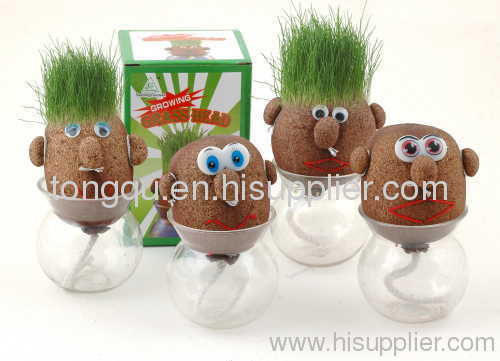 Grow grass man promotional gift set