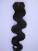 Brazilian remy hair weft/hair weave/hair weaving( hand tied weft)