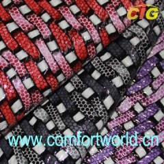 Pvc Leather Fabric For Luggage Bag Wallet Belt