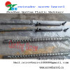 Single screw barrel for PVC PP LDPE HDPE extrusion