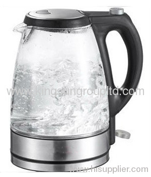 Electric cordless glass kettle 2.2L