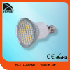 2013 hotsales E14 60 pcs 3528 smd led lamp
