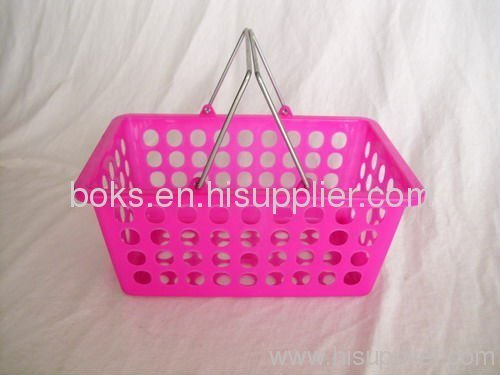 small plastic handle fruit baskets