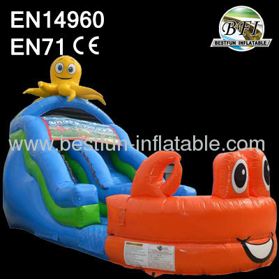 Sea World Inflatable Wet Dry Slide