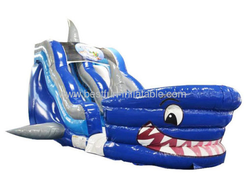Shark Tank Inflatable Slide