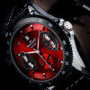 New Automatic Wrist Leather Date Mechanical Auto Steel Case Men's Watch Wrist Watch for 2013
