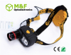 ABS 1Watt +3LED high power led head lamp