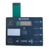 OEM membrane switch keypads with transparent window