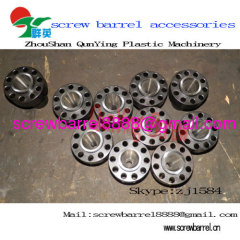 Plastic machinery segment screw barrel accessory parts
