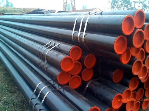 Structural seamless steel pipe