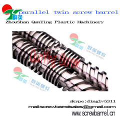 high quality parallel twin barrel and screw for you