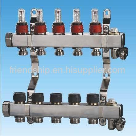 Square Stainless Steel Manifold