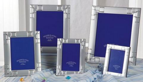 6X8Perfect Design Metal siliver plated Photo Frames