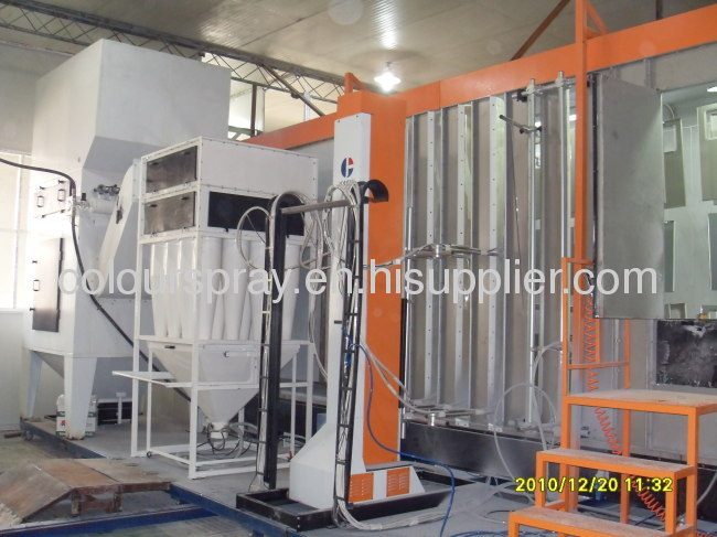 Colour Change Powder Coating System
