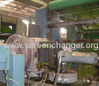 widely used plate type screen changer
