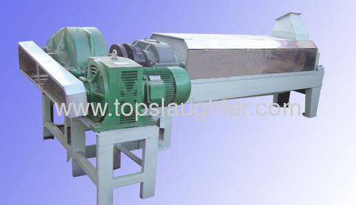 Fish meal plant Double-shaft squeezing machine
