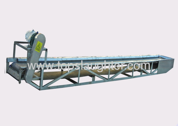 rendering plant machine belt Conveyor