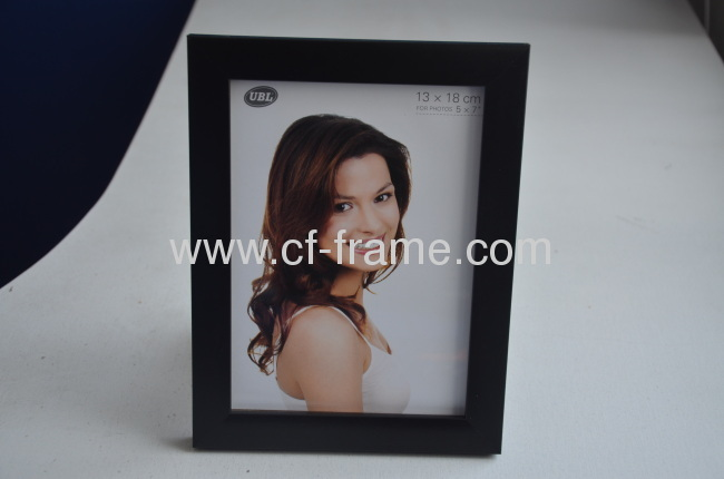 Quality Plastic Photo Frame 5x7PS Photo Frame Black color PS-001