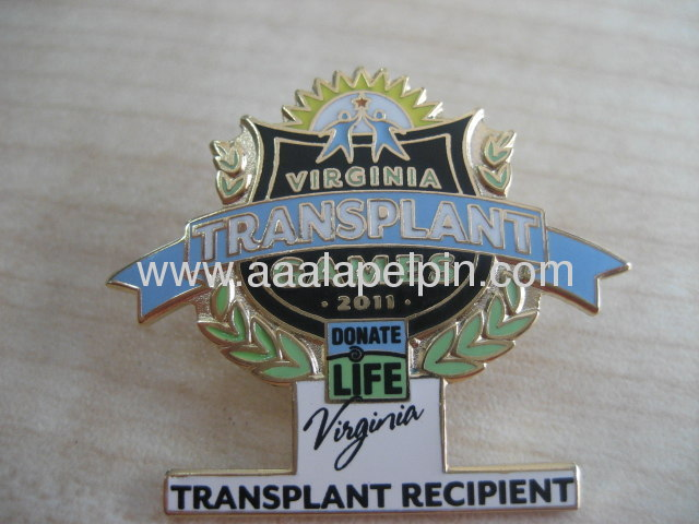 Fashionable Custom Enamel Metal Lapel Pin /zinc Alloy badges