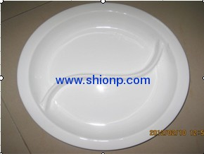 2/3 ceramic food pan