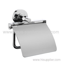 Brass Toilet Paper Holder with Cover