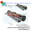 china parallel twin barrel screw