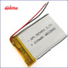 rechargeable lithium polymer battery 3.7v 600mAh for your digital services