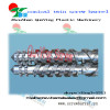 High quality screw barrel design PP PE PVC PE ABS PPR for plastic extruder machine conical twin barrel screw
