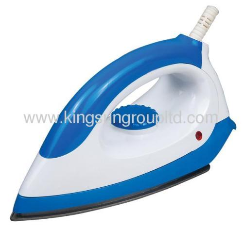 electric teflon flat iron from China with blue and white color