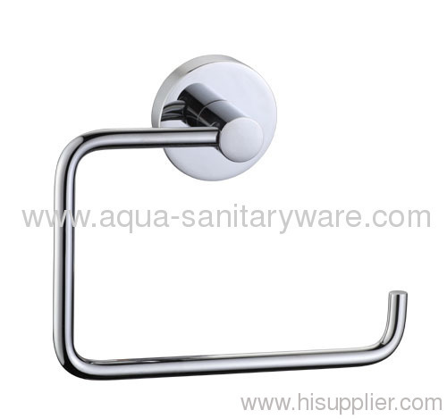Round Bathroom Single Towel Rail 18or 24BB.040.240.00CP