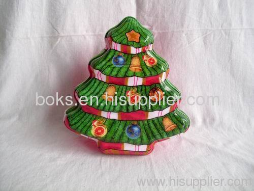 plastic Christmas candy tray