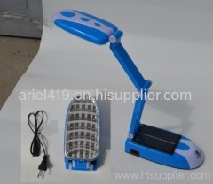 solar flexible led reading light