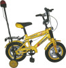 HH-K1267A yellow girl child bike with lamp and foot pegs
