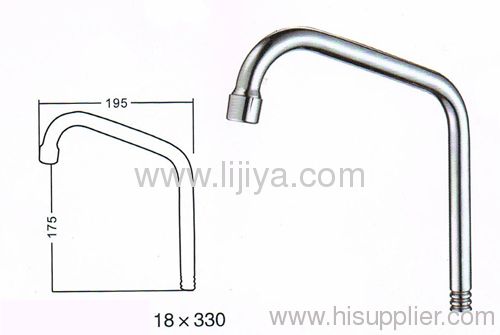 kitchen wash table basin faucet spout pipe tube