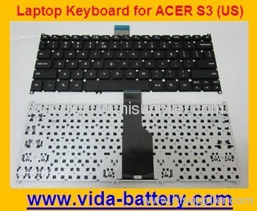 Laptop Keyboard for Acer Aspire S3 S5 TM B1 Gray US-international US NSK-R10PW 1D KBI100A236 9Z.N7WPW.01D