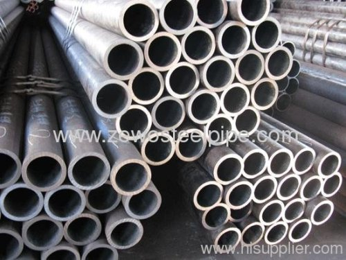 BLACK ROUND ERW STEEL PIPE