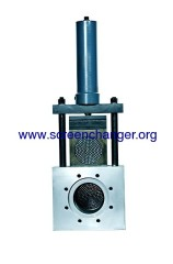 widely used plate type screen changer for chemical fiber extruder