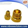 CNC Machining Brass Fittings