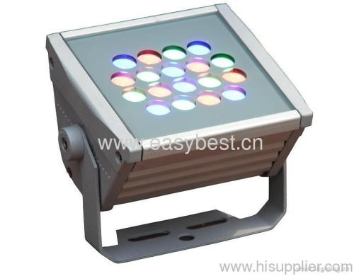 30W RGB led outdoor flood light with wireless remote control