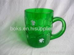 plastic Patrick beer cup with handle