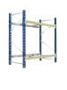 Two heavy -duty goods shelf