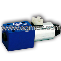 Rexroth 4WE10D 3X, 4WE10C 3X, 4WE10A 3X, 4WE10B 3X, 4WE10Y 3X, Single Solenoid Directional Control Valve