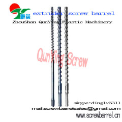 single extruder screw barrel for extruder plastic machinery